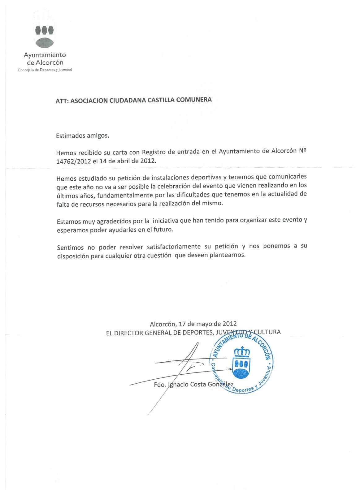 Alcorc n de izquierdas junio 2012 - Permisos para construir una casa ...