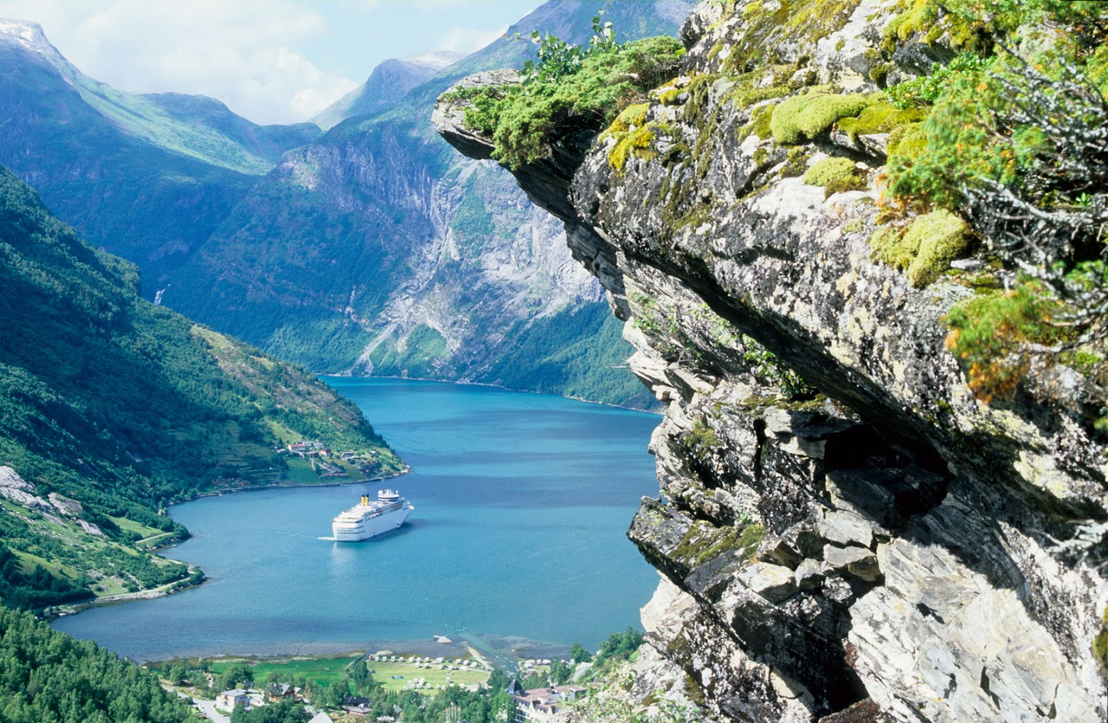 Travel For Everyone Norway Visit The Geirangerfjord - Norway map geirangerfjord