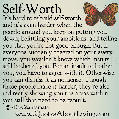 quotes about living doe zantamata self worth