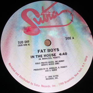 Fat Boys ‎– In The House / Breakdown (Promo VLS) (1986) (320 kbps)