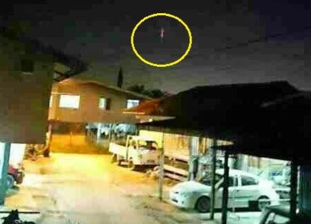 'Cahaya Misteri' Muncul Di Langit Sabah! [2]
