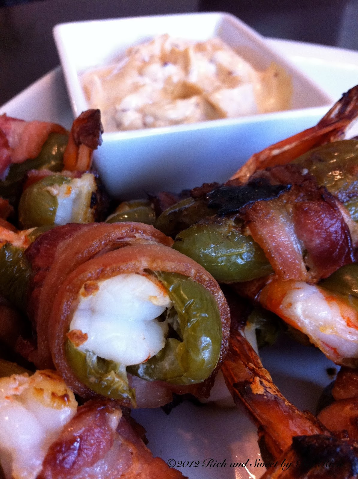 bacon wrapped bbq shrimp bacon wrapped chipotle shrimp kabobs recipe ...