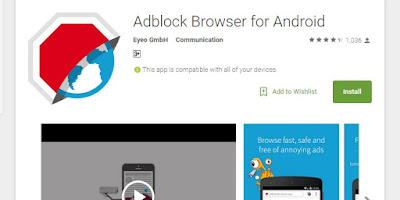 "Ad Blocker ""Adblock"" to be different in iOS and Android"