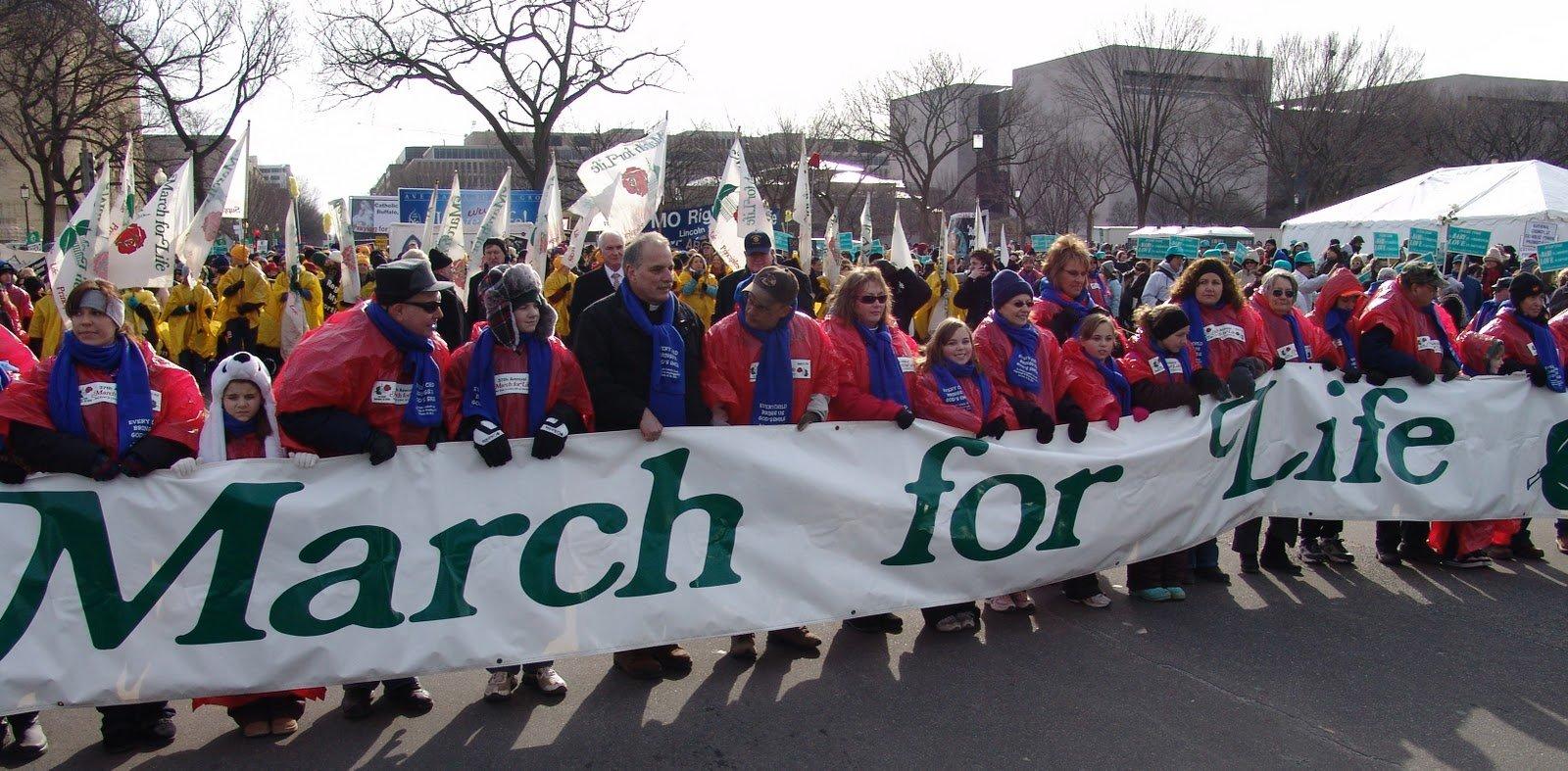 Como todo ano: imensa manifestação pela vida em Washington DC