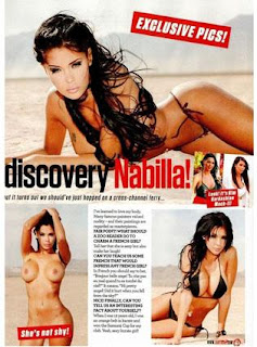 Nabilla  pour le magazine Zoo !