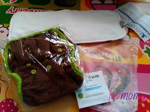 Retur Cloth Diaper Ecobum