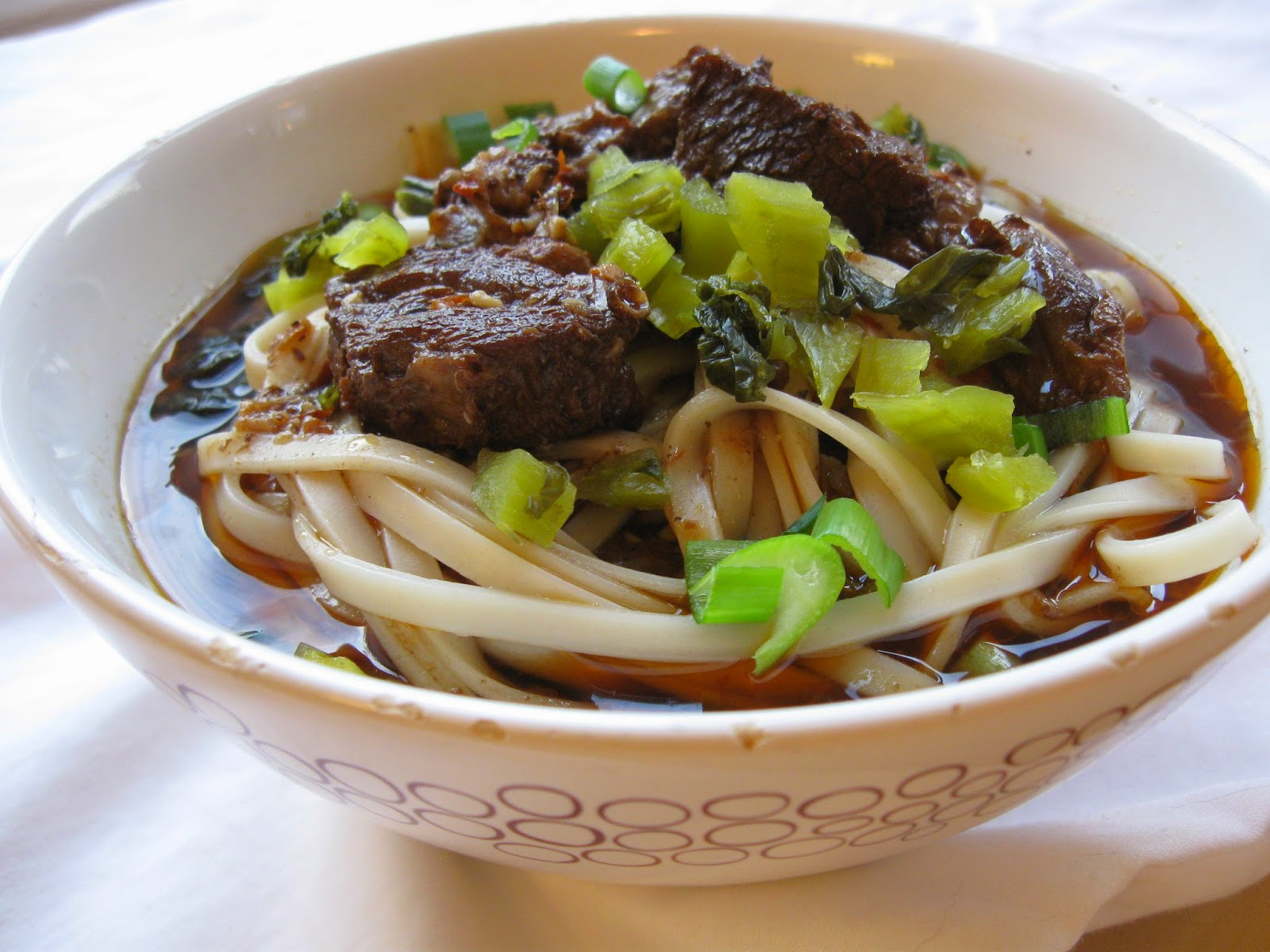 sichuan beef noodle soup with the ingredients sichuan bistro beef ...