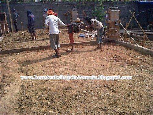 pemadatan tanah stamper