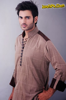 Aamir Liaquat Latest Men Kurta Collection For Mehndi Events