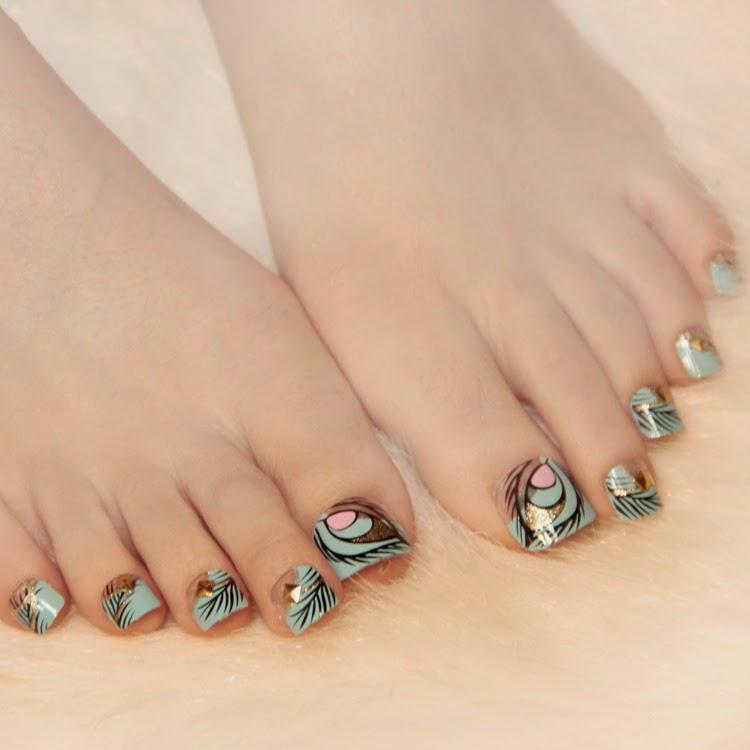 Hermosos Decorados para uñas de los pies
