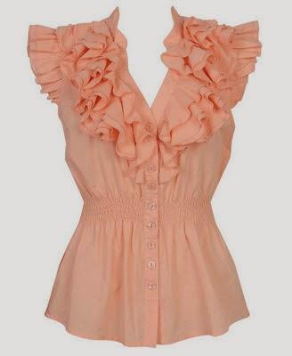 blusa con vuelo gorditas