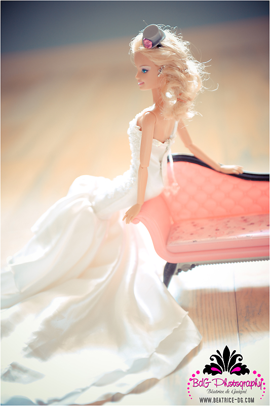 Barbies Wedding Hair And Makeup : World Famous Couples Wedding Photo - Barbie and Ken