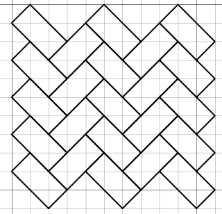 free blackwork woven fill pattern