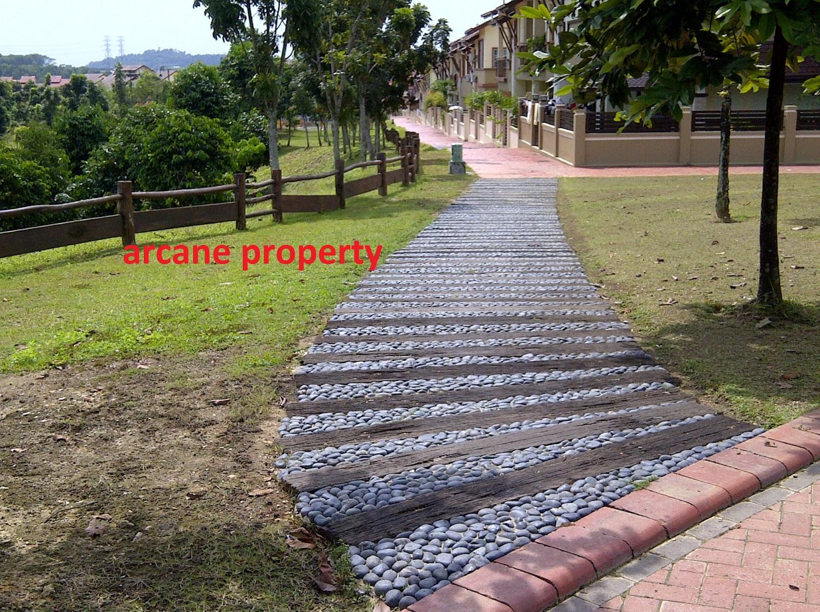 Property for sale in denai alam terrace house in denai for Terrace jogging track