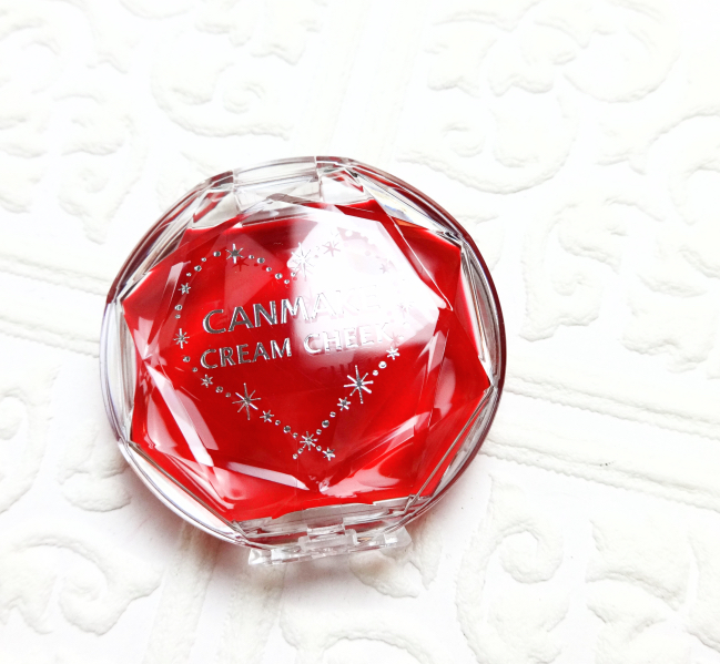 Canmake Cream Cheek Clear Red Heart