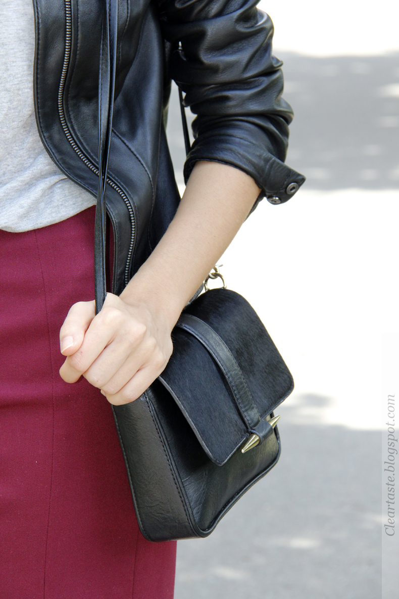 zara black bag 2013