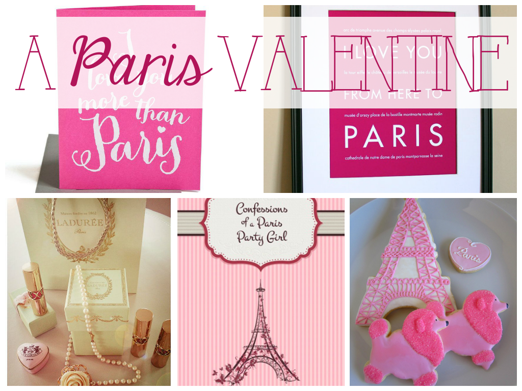 A Paris Valentine: gifts for the Paris lover on your list
