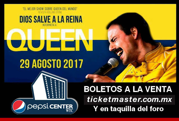 DIOS SALVE A LA REINA REGRESA A MEXICO 29 AGOSTO PEPSI CENTER