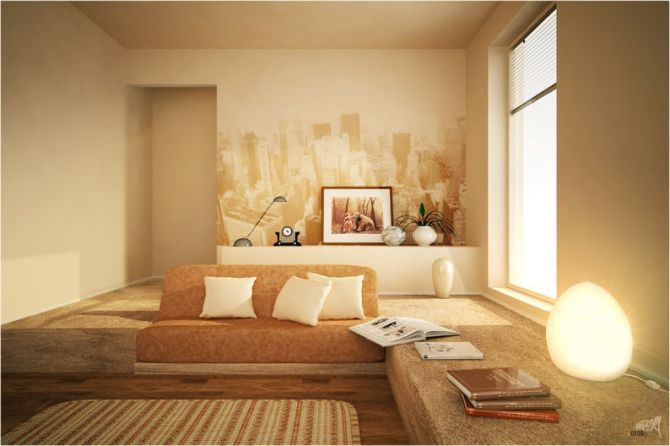 Living Room Design, Home Decor, Living Room With Japanese Style Part 53