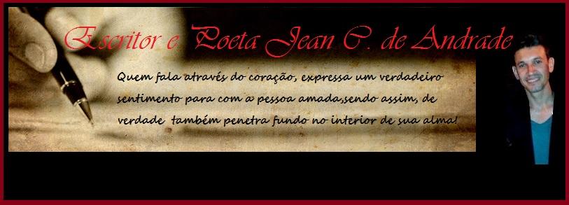 Escritor e Poeta Jean C. de Andrade