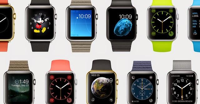 Apple công bố Watch thời trang, giá 349 USD, bán ra đầu năm 2015