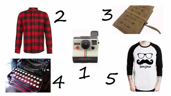 gift ideas for Mister Hipster