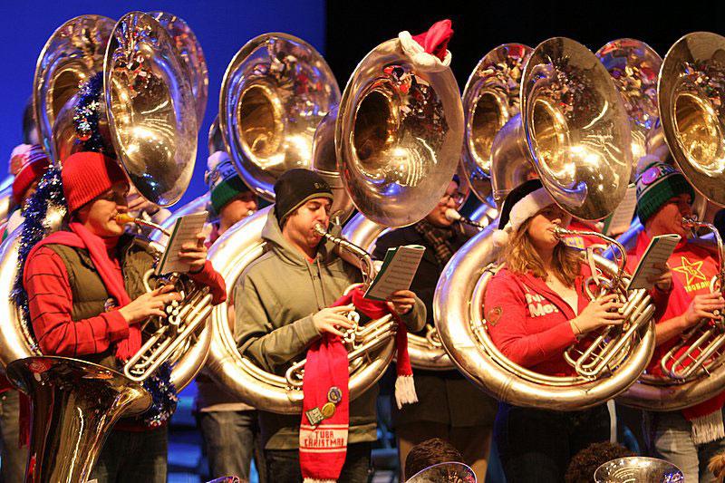 2012+Tuba+Christmas+-+West+Laffayete,+IN