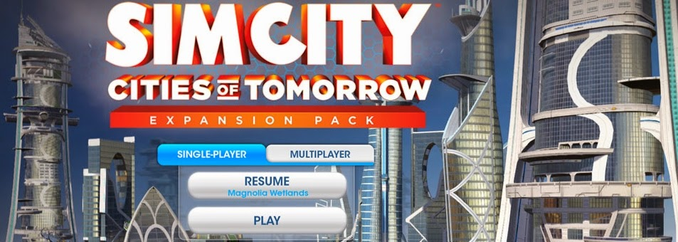 Sim City Cities of tomorrow single player offline