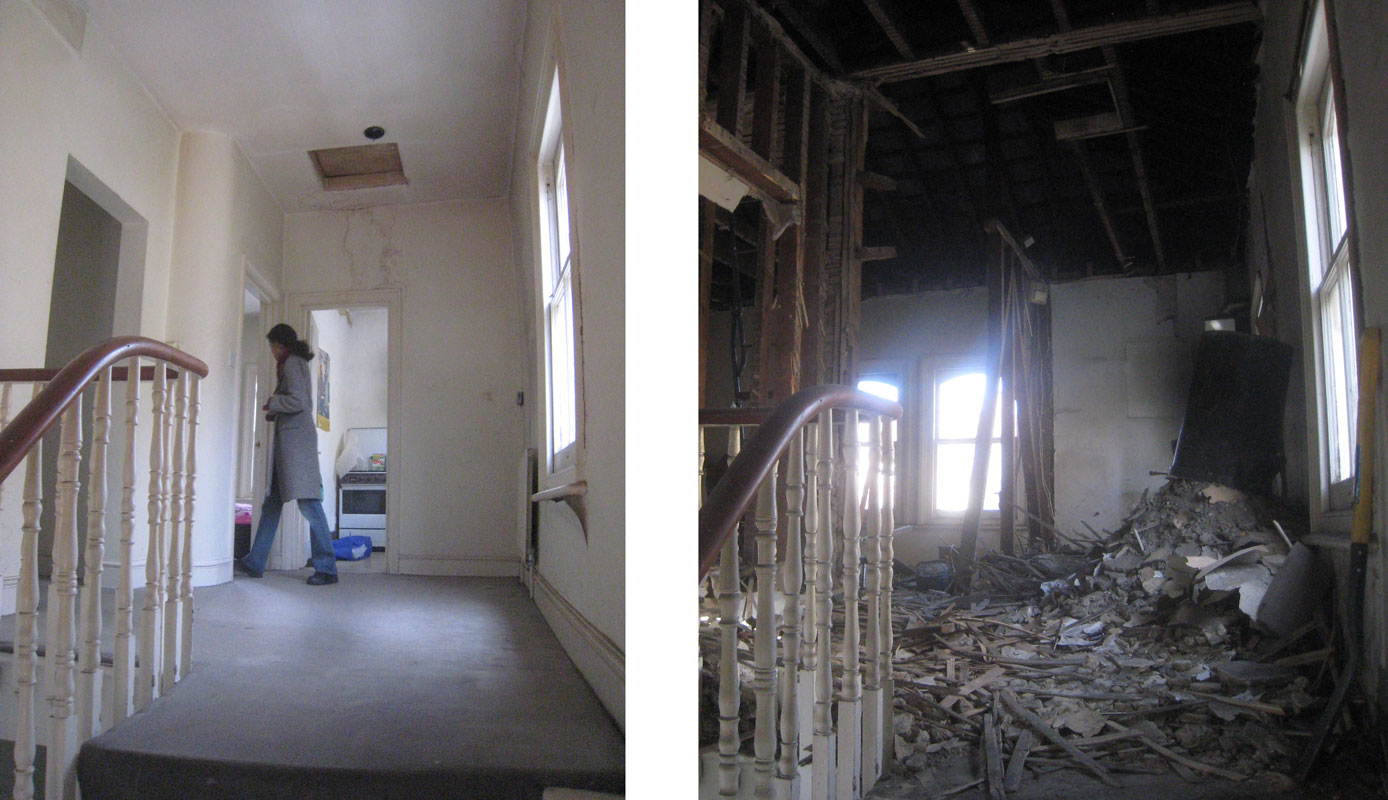 Building Demolition Before And After : Design build demolition before and after