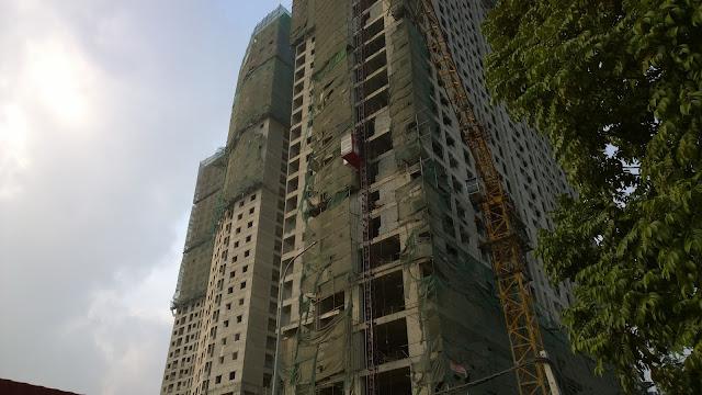 Công trường thi công Gemek Tower