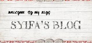 Syifa's Blog