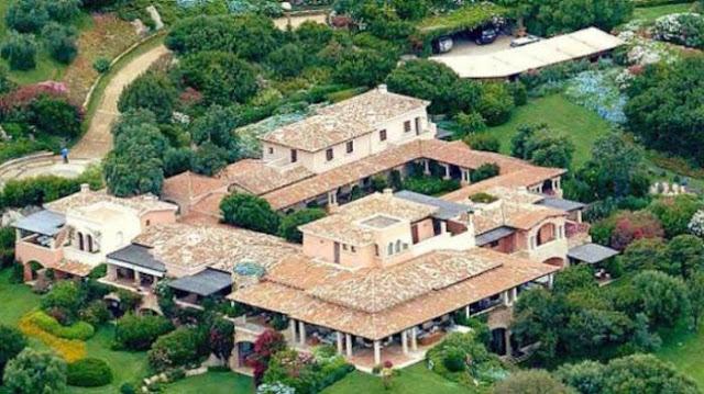 Raja Saudi Tawar Rumah Mewah Berlusconi Rp 7,3 Triliun