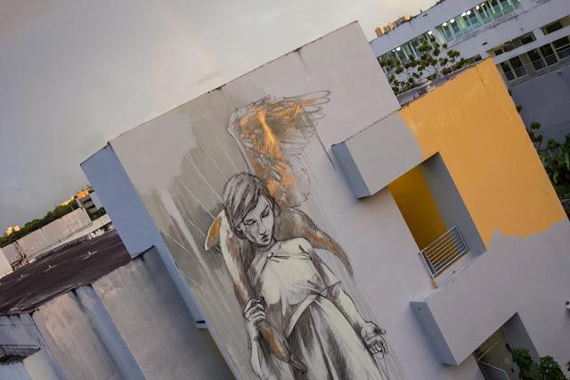 Work In Progress By Faith47 For Los Muros Hablan In Puerto Rico. 1