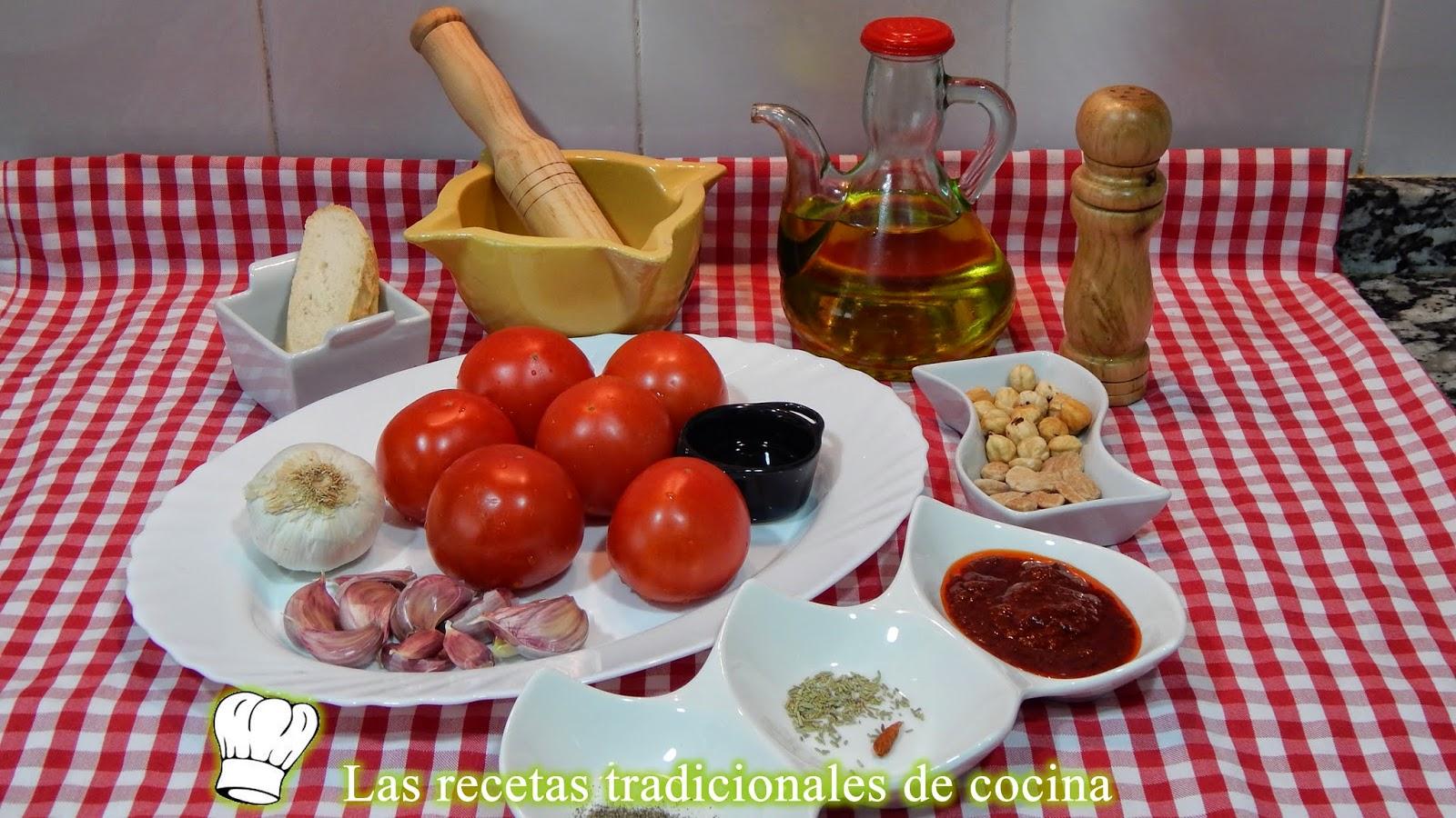 Receta tradicional de la salsa romesco
