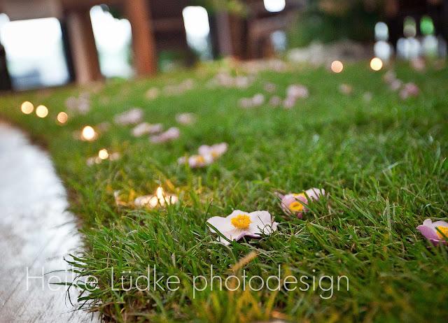 barfuß Hochzeit Rasen