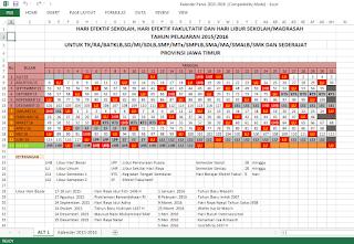 Kalender Pendidikan 2015 - 2016
