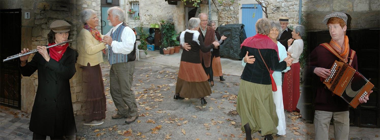 Le baleti emmené par Gabrielle et Charles