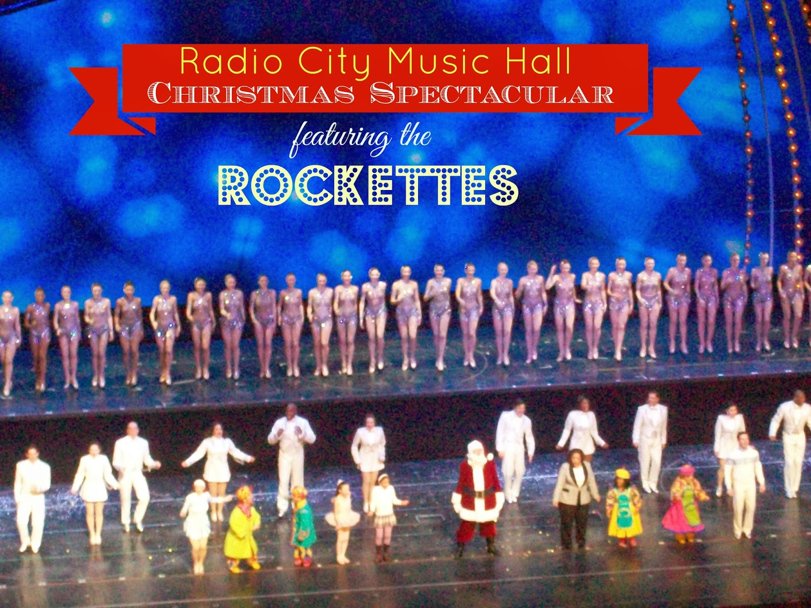 radio city music hall christmas spectacular the rockettes - Rockettes Christmas Show