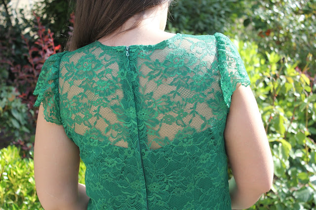 DIY costura vestido de renda e decote