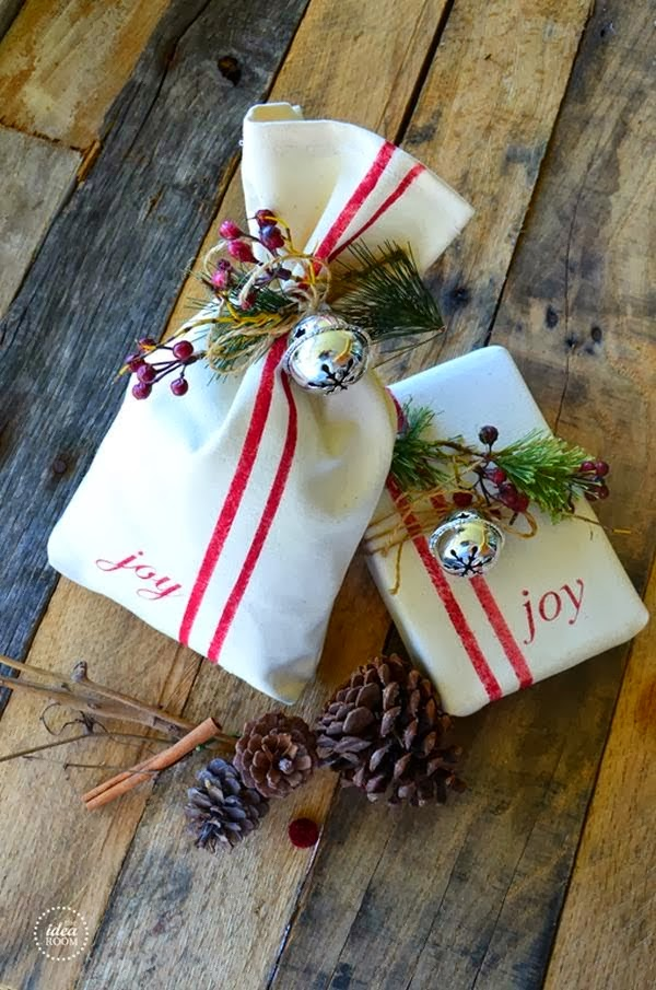 Винтажная упаковка подарков 64