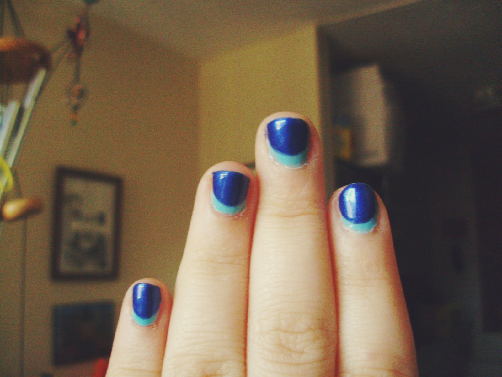 Sincerely, Sara | Style & Books: Reverse French Nails