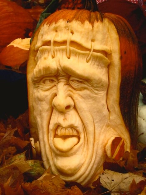 Creatively carved pumpkins pics curious funny