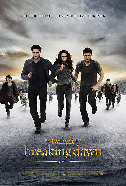 The Twilight Sage : Breaking Dawn (Part 2)