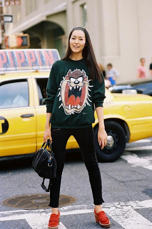 Vanessa Jackman: New York Fashion Week SS 2014....Liu