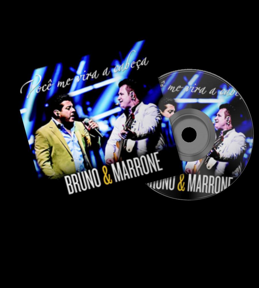 Bruno E Marrone CD Você Me Vira A Cabeça 2014