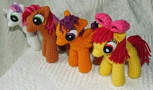 Pony Amigurumi Patron Gratis : Patrones Amigurumi Gratis: Patron Amigurumi Gratis: My ...
