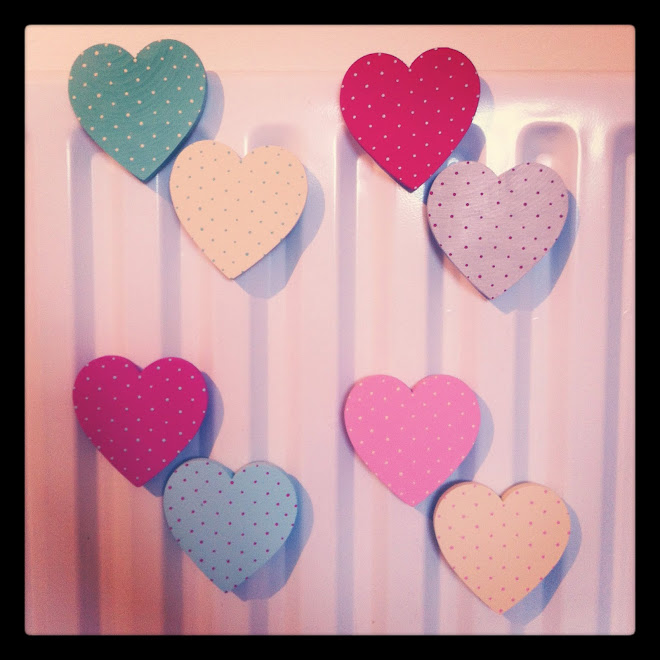 Magnets. 4 colour ways. £5.00 for a pack of 2