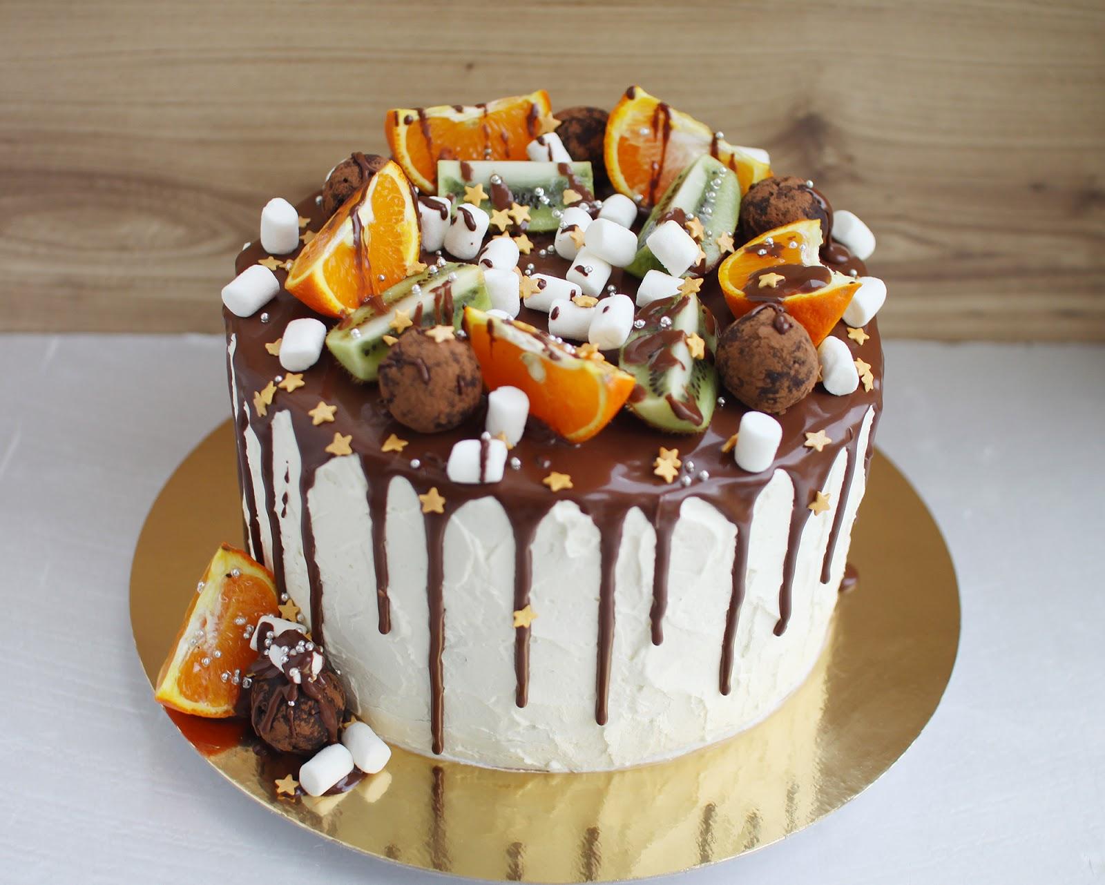Торт с подтеками: секреты приготовления 90