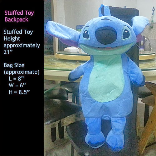 stitch stuffed toy backpack