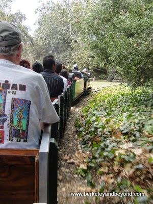 train ride at Griffith Park in Los Angeles, California